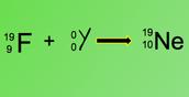 Gamma decay of fluorine-19