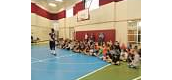 Vincent Dunning speaks to 5th grade