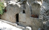 This tomb is known for the resurrection of JESUS