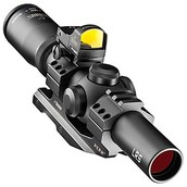 Burris Fullfield TAC30 Tactical Rifle Scope with Fast Fire II Red Dot Reflex Sight and AR-P.E.P.R. Mount