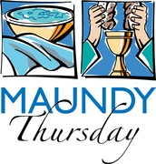 Maundy Thursday Seder Meal, Holy Communion