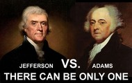 Jefferson vs Adams