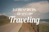 Traveling(Road Trips)