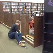 Dismantling shelves