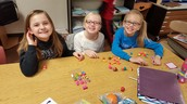 The girls enjoyed some free time playing with Shopkins.