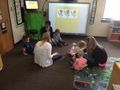 Ms. Denise, Lisa & Julie work with our future incoming 3s class