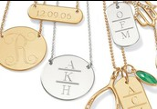 Engravable necklaces customized to your style!