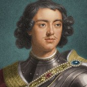Peter the Great as a young man