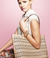 Avalon Tote in Blush $90.00 (Retail $148.00)