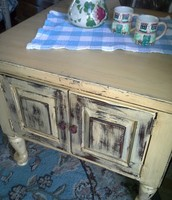 Cute country end table