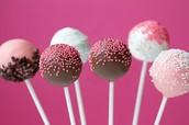Cake Pops and Cup cakes