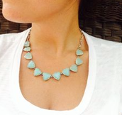Somervell Aqua necklace $25