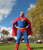 Our Head Master is a super hero!