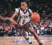 Allen Iverson in college