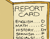 Report Cards Jan 15th