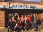 La ola del lago teachers and Amity interns