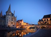 Anyone is welcome in the friendly town of Ghent.