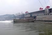 Grandes hidráulicas en  china