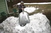 Backyard shoveling! (No Tax) (Not Real)
