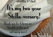 Happy Stella-versary to me!