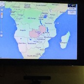 The Roberts family served in Zambia, Africa (highlighted in red) for almost 7 years.