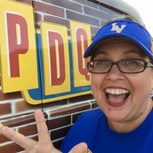 Mrs. Simons representin' LVES at PDQ