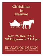 Tonight, Christmas in Nauvoo