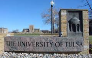 The University of Tulsa Sign