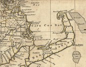 1776 Map of New England