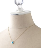 Maya Turquoise Pendant Necklace