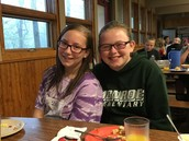First Meal at Camp Joy!