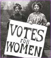 Women not being aloud to Vote in The Past