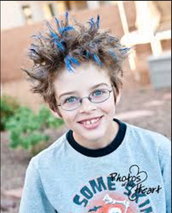 Friday-Crazy hair day