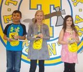 Giovanni, Anna, y  Kaylee - Los 3 Ganadores