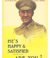 'He's happy & satisfied. Are you?'