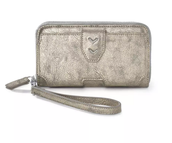 Madison Tech Wallet Metallic $79