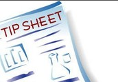 Check out this tip sheet