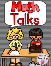 Math Talks - K-1