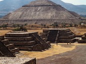 Geography of the beautiful Teotihuacan.