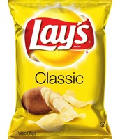 lays yellow bag potato chips