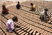 most work in brick factories