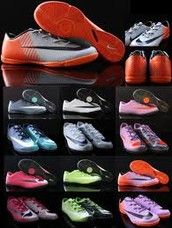 Our shop sells the best futsal shoes in town!