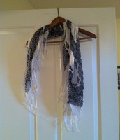 68. Blue and White Scarf