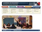 Dimension 3.2 Managing Student Behavior