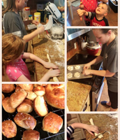 Mrs. Cawthon and crew have been busy cooking away
