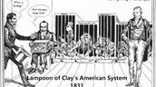 Cartoon made about the American System