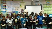Ms. Castillo's 1st Grade Attendance Challenge Winners