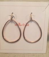 Goddess Teardrop Earrings in Rose Gold  12.00