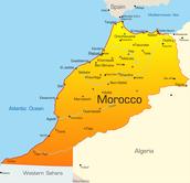Map of Morroco