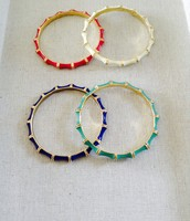 Julep Bangles (pink, white, blue, green)
